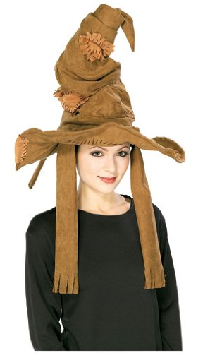 Harry Potter Sorting Hat, Brown - Party Hats Entertainment