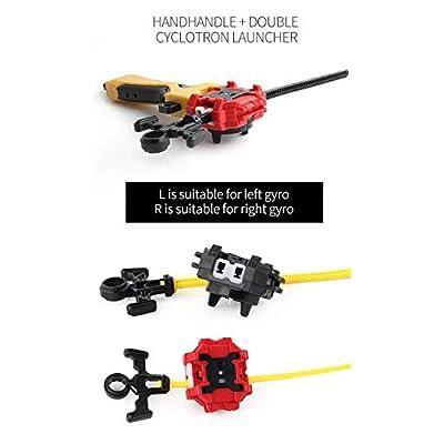 Coal 4 Pieces Battle Burst Gyro Set(4 in 1): Toys & Games