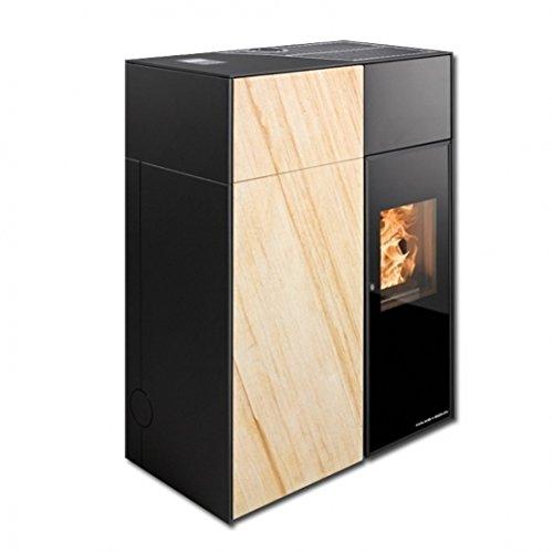 Haas + Sohn raumluftunabhängiger Pellet estufa de 8 kW Catania pellets Horno Silencioso: Amazon.es: Bricolaje y herramientas