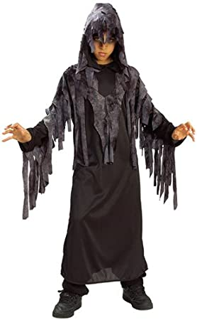 Halloween - Disfraz de Fantasma Maldito nocturno para niño, infantil 3-4 años (Rubie's 881104-S)