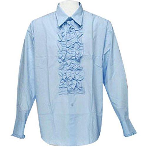 Men's Blue Tuxedo XL Shirt Theater Costume