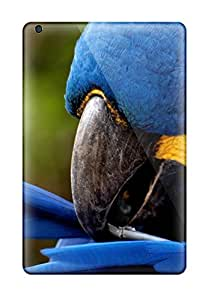 Margaret Dayton's Shop Hot 8758603I23405417 Rugged Skin Case Cover For Ipad Mini- Eco-friendly Packaging(bright Blue Parrot)