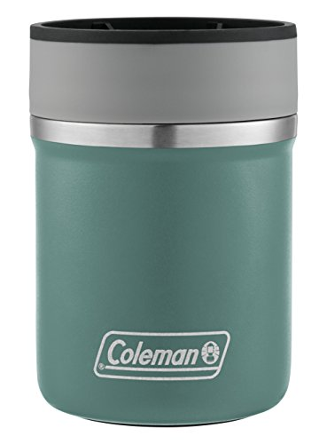 - Coleman Lounger Stainless Steel Can Insulator, Seafoam,