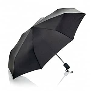 Travel Smart by Conair Mini Umbrella, Black- Light Compact Design makes it perfect for Travel