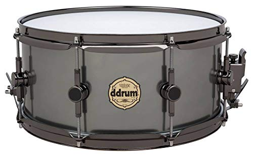 Ddrum Vintone VT SD 5X14 14-Inch Snare Drum - Black Anodized Aluminum