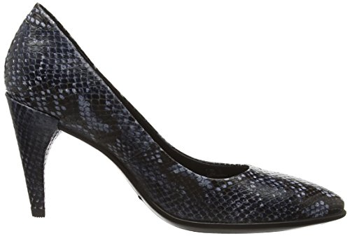 ECCO Women's Shape 75 Pointy Dress Pump, Beige True Navy