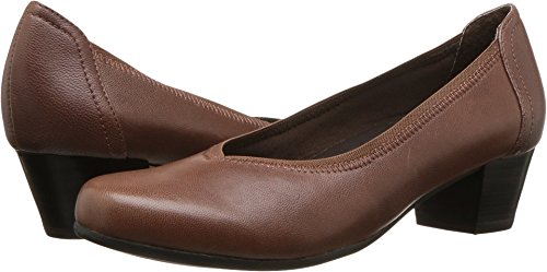 David Tate Women's Madera Brown 8 C/D (Brown Single Arch)