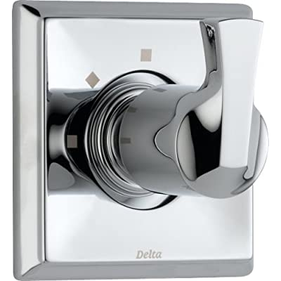Image of Home Improvements Delta Faucet Dryden 3-Setting Shower Handle Diverter Trim Kit, Chrome T11851 (Valve Not Included)