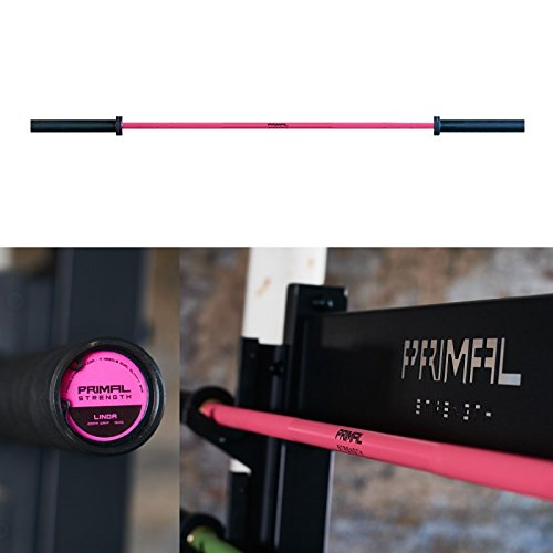 Primal Strength Damen Weightlifting Bar Linda Pink 15 kg