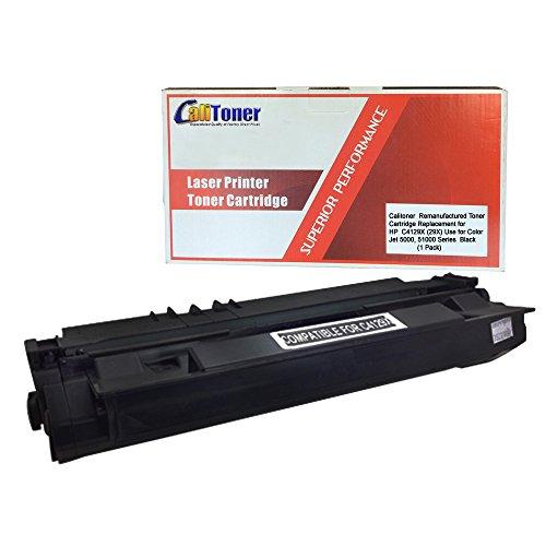 CALITONER Remanufactured Laser Toner Cartridge Replacement for HP C4129X (29X) -Black