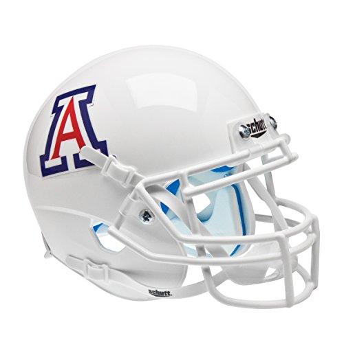 NCAA Arizona Wildcats WH No Stripe Authentic Helmet, One Size by Schutt