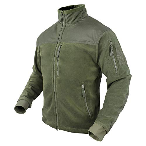 Condor Alpha Micro Fleece Jacket (Olive Drab, X-Large)