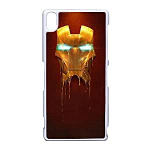 Ironman_003 High Quality Specially Designed Skin cover Case For Sony Xperia Z3 White