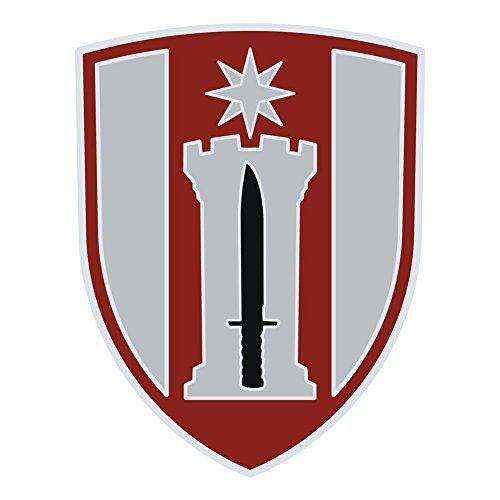 Army 372nd Engineer Brigade Veteran Unit Sticker (Us Units Army Engineer)