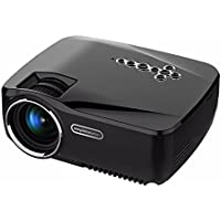 GIGXON Android 1200 Lumens LED Video Wireless Projector 1080P for Entertainment party Movie Music