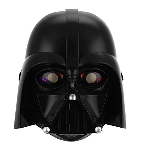 [Star Wars LED Stormtrooper Darth Vader Mask Helmet Halloween Masquerade Party Black] (Female Centaur Costume)