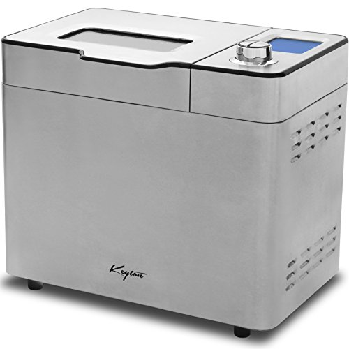 Keyton Stainless Steel Bread Maker , Silver, 2 lb