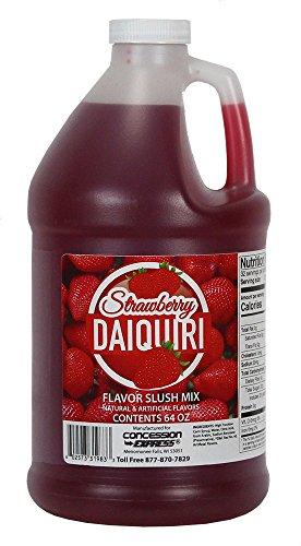 Concession Express Slush & Slushy Mix 1/2 Gallon (Strawberry Daiquiri)