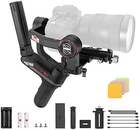 ZHIYUN WEEBILL-S カメラスタビライザー Sony・Nikan・Canon・Panasonicカメラなどに対応 ト