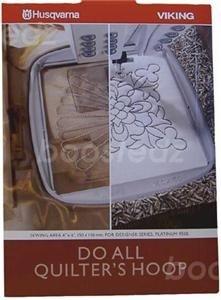 Genuine Husqvarna Do ALL Quilter's Hoop (130 X 180mm) 920115-096 (Designer Husqvarna 1)