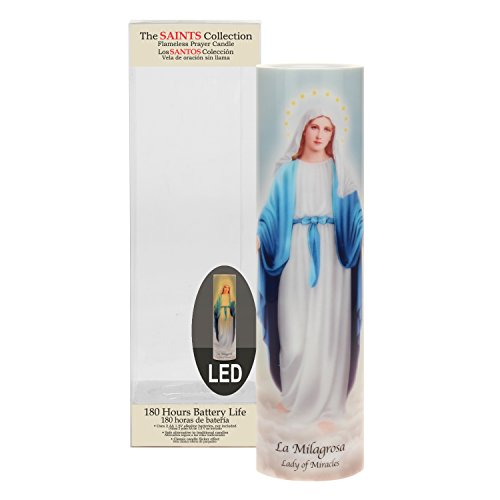 The Saints Collection Lady of Miracles Flickering LED Prayer