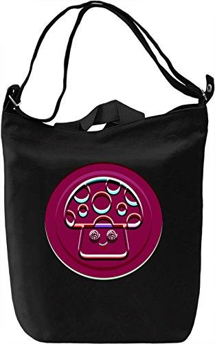 Psychedelic Mushroom Borsa Giornaliera Canvas Canvas Day Bag| 100% Premium Cotton Canvas| DTG Printing|