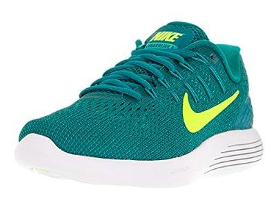 Nike Womens Lunarglide 8 Rio Teal/Volt/Clr Jade/Mid Trq Running Shoe 9.5 Women US