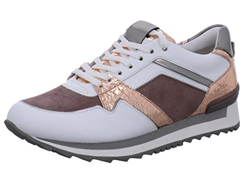 Schmenger amp; BLANC GRAU 628 ROSE Trainers Kennel 18120 WEISS SOHLE Women's ROfqCqwg