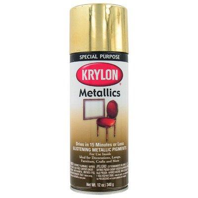 Krylon products brass metallic spray paint, 1708