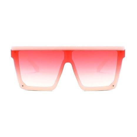 Yangjing-hl Gafas de Sol Marco Grande Gafas de Sol cuadradas ...