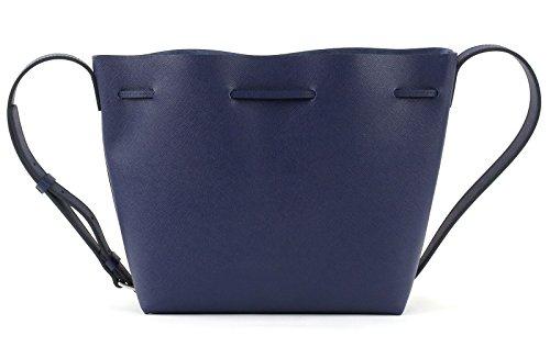 Sac Cuir 42218BLUEFR 5x24 12 cm et Femme bandoulière Argent 5x23 Bleu Lancaster Bleu à 8qHwx8Ir4
