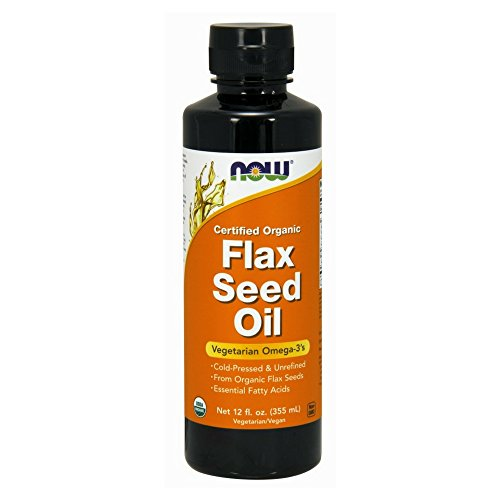 NOW Flax Seed Oil Liquid,12-Ounce
