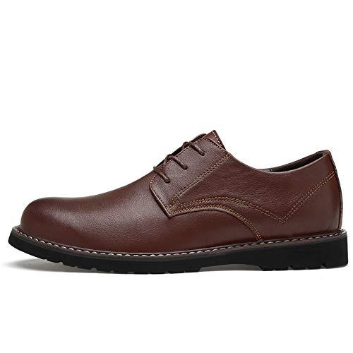 Marrone Oxford EU Color semplice Fang testa 47 Business Primavera classica Scarpe Dimensione classiche 2018 Estate Men's Casual con shoes Marrone tonda 6HqY1HwR