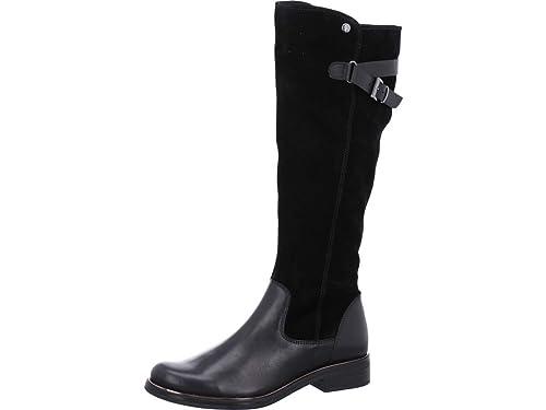 Stiefel 21019 Boots 9 25524 Damen Caprice Woms Schwarz eCBrxodW