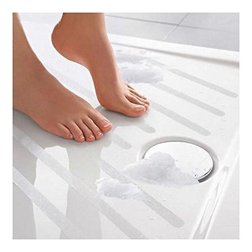20 Safe-T-Strips Clear Non-Slip Safety Applique Mat Stickers Bath, Tub & Shower from Unknown