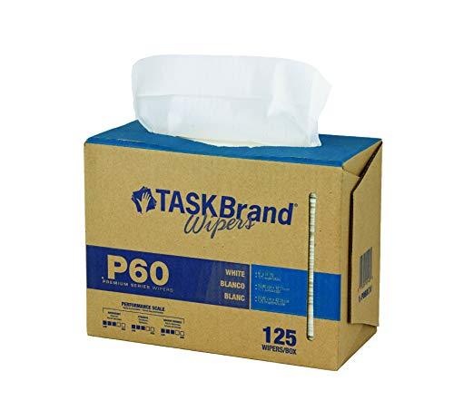 TaskBrand N-P060IDW Hospeco Premium Series Interfold Heavy Duty Wipers, Dispenser Box, 9