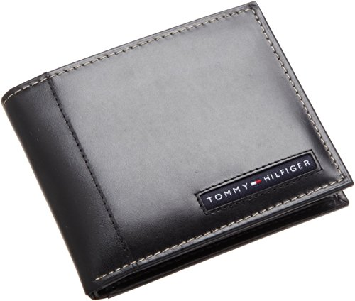 tommy-hilfiger-mens-leather-cambridge-passcase-wallet-with-removable-card-case-black-one-size