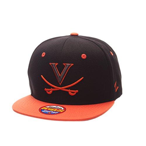 (ZHATS NCAA Virginia Cavaliers Children Boys Youth Z11 Phantom Snapback Hat, Adjustable Size, Black/Team Color)