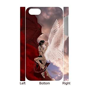 3D Bumper Plastic Case Of Angel customized case For Iphone 4/4s