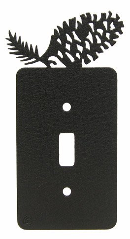 Pinecone Single Light Switch Plate Cover ()