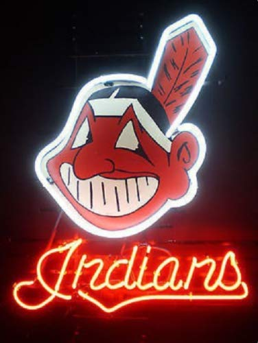 Cleveland Indians Neon Sign - Queen Sense 20