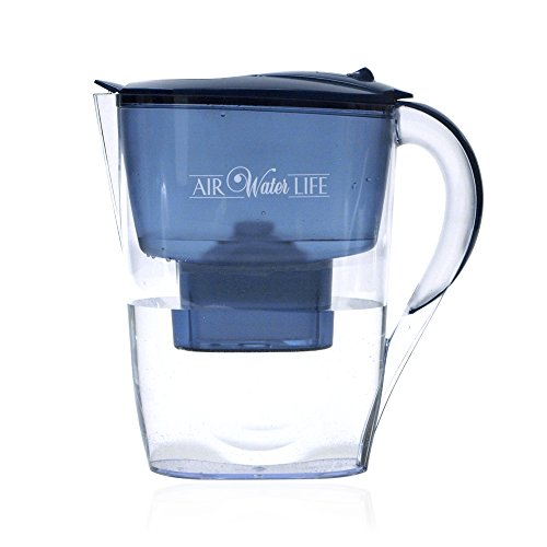 Air Water Life Alkaline Water Pitcher | Instant Alkaline, Ionized, Antioxidant Water For Better Health, Portable and Great Travelling Companion, Best Gift