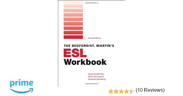 Amazon.com: Bedford/St. Martin's ESL Workbook (9780312540340 ...