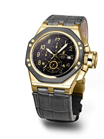 Astboerg Oktagon AT3062GS Herren Armbanduhr exklusiver Chonograph