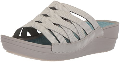 Baretraps Womens Beverly Slide Sandal Grey