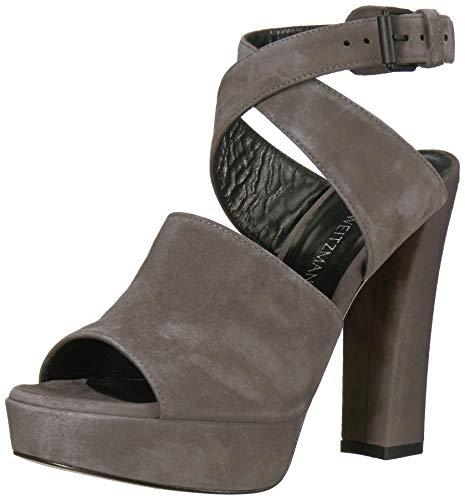 Stuart Weitzman Women's Detour Heeled Sandal, Londra Suede, 6.5 Medium US