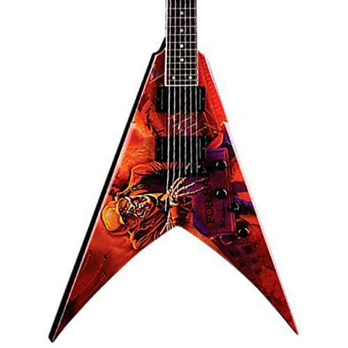 (Dave Mustaine VMNT Peace Sells Electric Guitar)