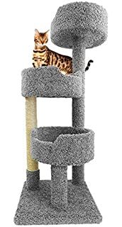 Sisal & Fur Cat Post Scratcher With The Best Service Cat Supplies