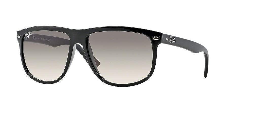 e56e363a3d4 Amazon.com  Ray-Ban RB4147 601 58 56M Black Green Polarized Sunglasses For  Men For Women  Clothing