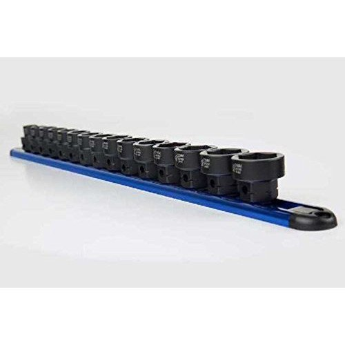 Sunex 2673 15Piece 1/2'' Drive Low Profile Impact Socket Set with Hex Shank Mm, by Sunex Tools (Image #2)